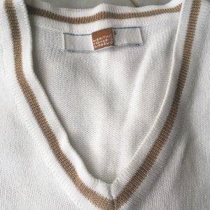 Francois Girbaud Sweater wit-zandig bruin