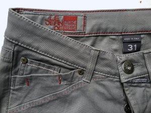 Marithé + Francois Girbaud Pantalone cinque tasche grigio-grigio chiaro Cotone