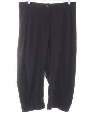 Marithé + Francois Girbaud 3/4-broek zwart casual uitstraling