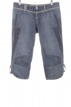 Marithé + Francois Girbaud 3/4-jeans blauw casual uitstraling