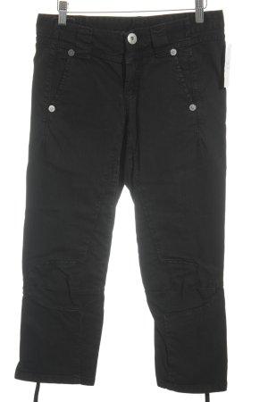 Marithé + Francois Girbaud 3/4 Jeans schwarz Casual-Look