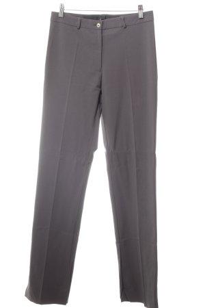 Marithé + Francois Girbaud Pantalone da abito grigio scuro stile professionale