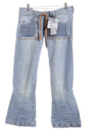 Marithé + Francois Girbaud Boot Cut Jeans blau Casual-Look