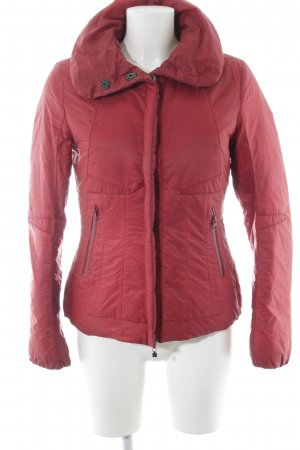 Marithé + Francois Girbaud Down Jacket dark red casual look