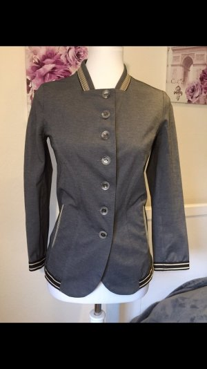 Marithé + Francois Girbaud Naval Jacket grey cotton