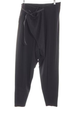 Marithé + Francois Girbaud Peg Top Trousers black casual look