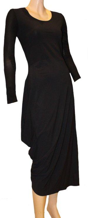 Marithe Francois Girbaud Kleid schwarz Stretch Gr. 38