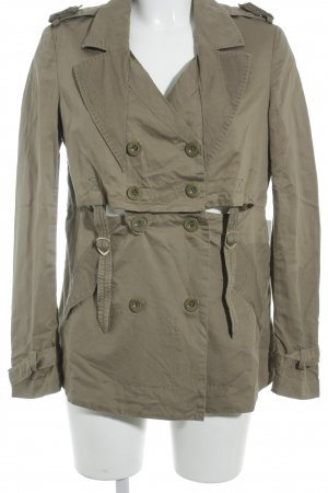 Marithé + Francois Girbaud Lange Jacke khaki Military-Look