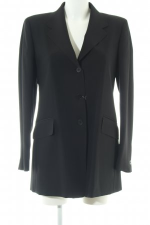 Marithé + Francois Girbaud Long-Blazer schwarz Business-Look