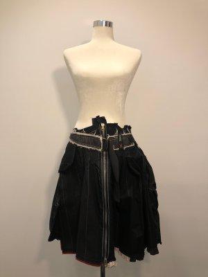 Marithé + Francois Girbaud Plaid Skirt multicolored cotton