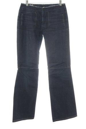 Marithé + Francois Girbaud Straight-Leg Jeans dunkelblau Casual-Look