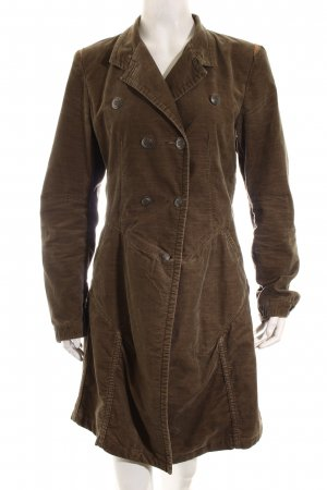 Marithé + Francois Girbaud Trenchcoat graubraun Casual-Look