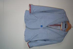 Maritim - Marine - Rockabilly Blazer mit Streifen aus weichem Stoff