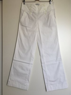 Apart High Waist Trousers white