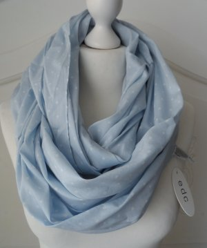 edc by Esprit Snood azuur-wit Katoen