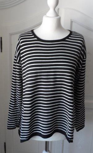 maritimer GINA  Pullover Gr. 36 Schwarz Weiß NEU ohne Etikett