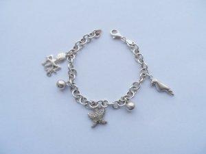 maritimes Armband Bettelarmband aus 925 Silber