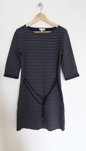 maritimes Kleid  dunkelblau mit Streifen