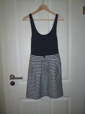 maritimes Kleid, high waist