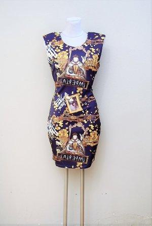 Maritimes Stretch-Kleid