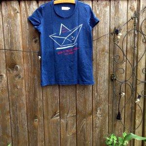 Maritimes T-Shirt von Twintip