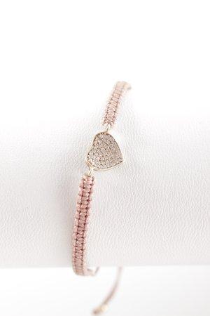 """Marjana von Berlepsch Bracelet """"Clay Heart Bracelet Powder Pink"""" vieux rose"""