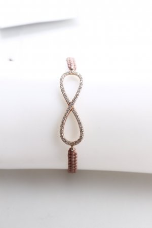 "Marjana von Berlepsch Armband ""Clay Infinity Bracelet Powder Pink"""