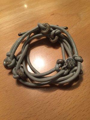 Marjana von Berlepsch Wickelarmband grau /Silber