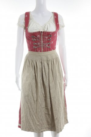 MarJo Dirndl flower pattern fancy buttons