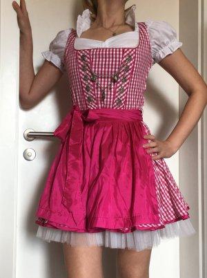 MarJo Mini Dirndl mit Petticoat und Charivari