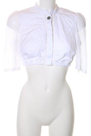 MarJo Trachtenbluse weiß extravaganter Stil