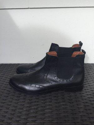 Mark Adam Korte laarzen zwart