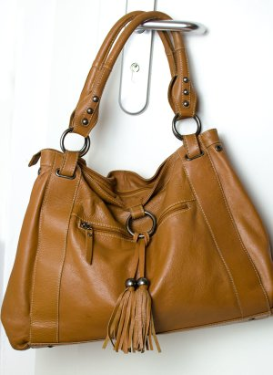 Mark Adam Shopper cognac cuir