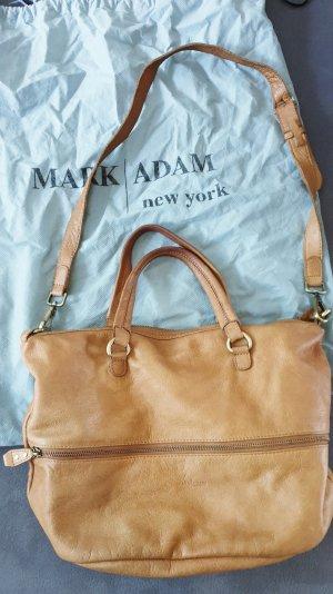 Mark Adam Handbag light brown leather