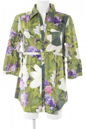 Mark Adam Long-Bluse florales Muster Casual-Look