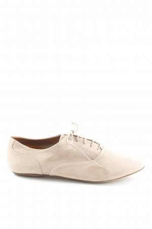 Mark Adam Schnürsneaker beige Business-Look