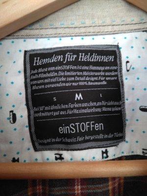 Marke einstoffen: ausgefallene Bluse, tolles Geschenk für Heldinnen, siehe Foto