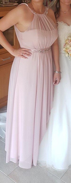 Marken Kleid - Abendkleid - Pastell Rosa - Gr. 42 / 44 - Coast - Neuwertig