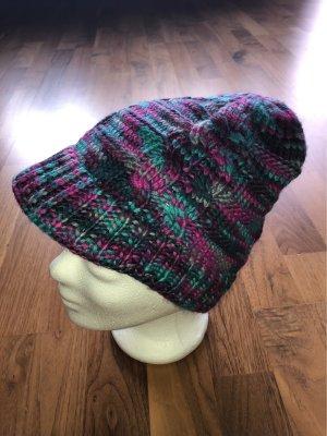 Vans Chapeau en tricot violet-bleu violet