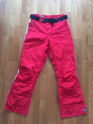 Matador Pantalone da ginnastica rosso-bianco