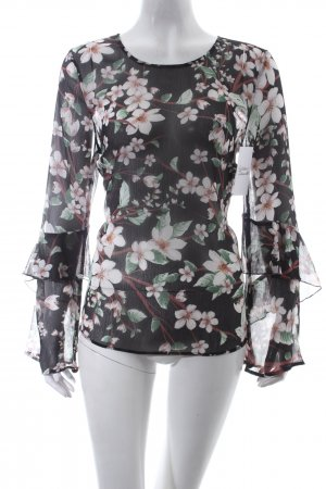 Marks and Spencer Bluse Blumenmuster Romantik-Look