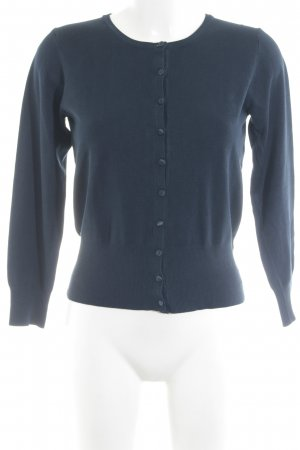 Marks and Spencer Strick Cardigan dunkelblau Casual-Look