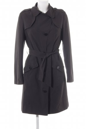 Marks and Spencer Trenchcoat schwarz Empire-Look