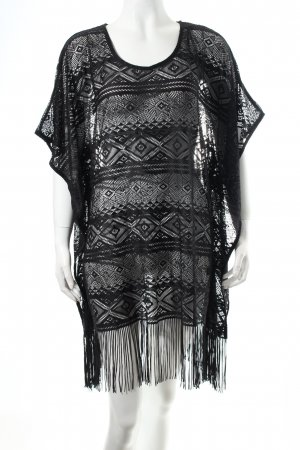 Marks and Spencer Tunikakleid schwarz Beach-Look