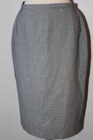 Marks&Spencer Bleistiftrock schwarz weiß Hahnentrittmuster Gr.UK 10 D 36 S