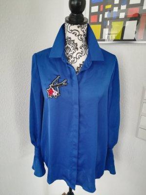 Marks&Spencer Bluse mit Schwalbenpatch
