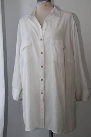 Marks&Spencer Gr. 50 52 UK 24 creme Bluse Tunika