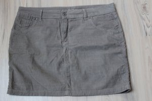 Marks and Spencer Jupe en jeans gris-gris clair coton