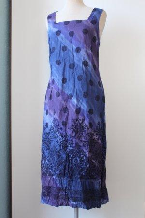 Marks&Spencer Kleid Trägerkleid knielang EUR 40 nacht blau schwarz
