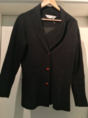 Marks & Spencer schwarze Strickjacke mit Applikationen...